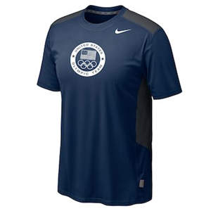 Men's Team USA  Speedfly T-Shirt - Navy