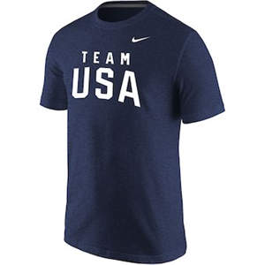 Men's Team USA  Tri-Blend T-Shirt - Navy
