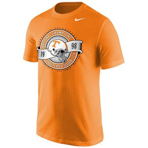 Men's Tennessee Volunteers  20th Anniversary 1998 College Football National Champions T-Shirt – Tennessee Orange