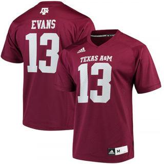 Men's Texas A&M Aggies #13 Mike Evans Maroon Alumni Player NCAA Jersey