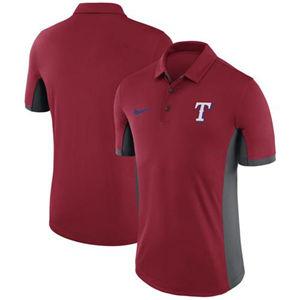 Men's Texas Rangers  Red Franchise Polo Shirt