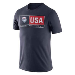 Men's USA Basketball  Team Dri-FIT T-Shirt - Navy