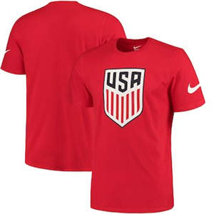 Men's USA National Team  Crest T-Shirt - Red
