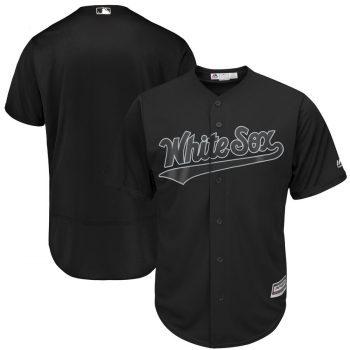 Men's White Sox Blank Black 2019 Players' Weekend  Player Jersey