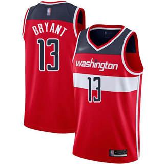 Men's Wizards #13 Thomas Bryant Red Basketball Swingman Icon Edition Jersey