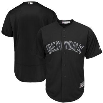 Men's Yankees Blank Black 2019 Players' Weekend  Player Jersey