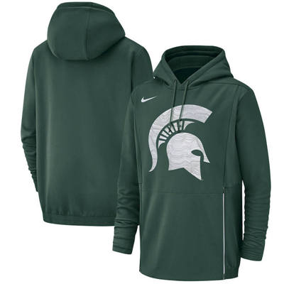 Michigan State Spartans Champ Drive Performance Pullover Hoodie – Green