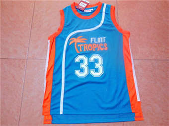 Movie Edition Jersey #33 MOON blue mesh jerseys