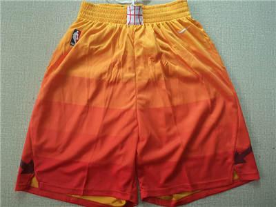 Basketball Jazz Orange  Swingman Shorts