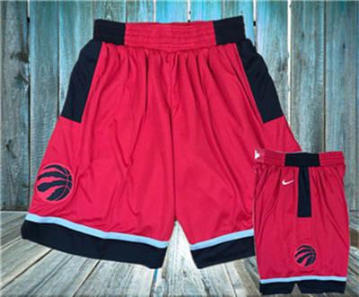 Basketball Raptors Red  Swingman Shorts