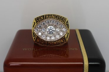 Football 1981 Super Bowl XVI San Francisco 49ers Championship Ring