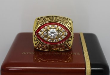 Football 1982 Super Bowl XVII Washington Redskins Championship Ring