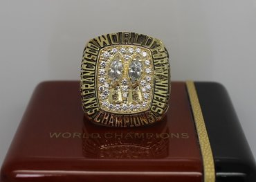 Football 1984 Super Bowl XIX San Francisco 49ers Championship Ring