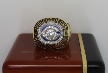 Football 1985 Super Bowl XX Chicago Bears Championship Ring