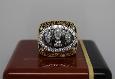 Football 1988 Super Bowl XXIII San Francisco 49ers Championship Ring