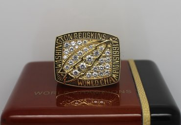 Football 1991 Super Bowl XXVI Washington Redskins Championship Ring
