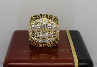 Football 1994 Super Bowl XXIX San Francisco 49ers Championship Ring