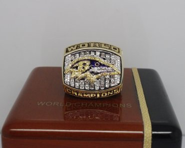 Football 2000 Super Bowl XXXV Baltimore crow Championship Ring