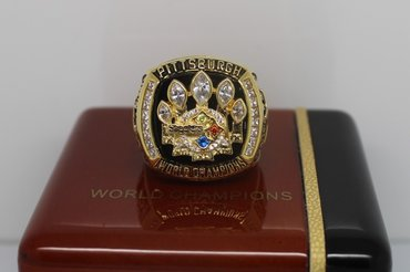 Football 2005 Super Bowl XL Pittsburgh Steelers Championship Ring