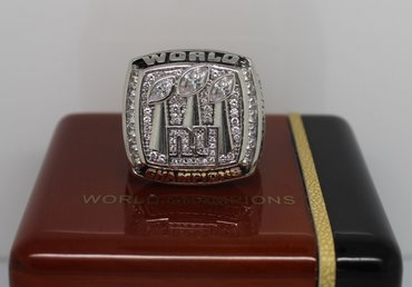 Football 2007 Super Bowl XLII New York giants Championship Ring