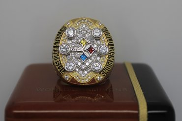 Football 2008 Super Bowl XLIII Pittsburgh Steelers Championship Ring