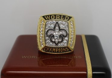 Football 2009 Super Bowl XLIV New Orleans Saints Championship Ring