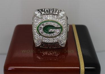 Football 2010 Super Bowl XLV Green Bay Packers Championship Ring