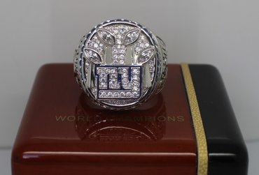 Football 2011 Super Bowl XLVI New York Giants Championship Ring