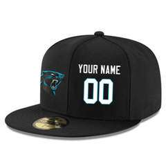 Football Carolina Panthers Customized Stitched Snapback Adjustable Player