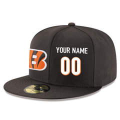 Football Cincinnati Bengals Customized Stitched Snapback Adjustable Player