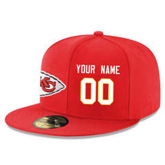 Football Kansas City Chiefs Customized Stitched Snapback Adjustable Player