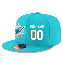 Football Miami Dolphins Customized Stitched Snapback Adjustable Player