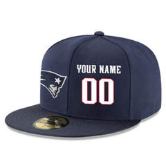 Football New England Patriots Customized Stitched Snapback Adjustable Player