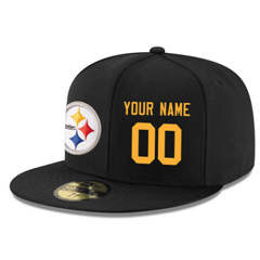 Football Pittsburgh Steelers Customized Stitched Snapback Adjustable Player