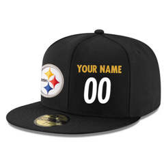 Football Pittsburgh Steelers Customized Stitched Snapback Adjustable Player white number