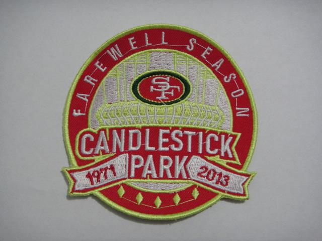 Football San Francisco 49ers Candlestick Park Farewell Season Patch