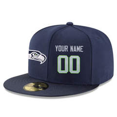 Football Seattle Seahawks Customized Stitched Snapback Adjustable Player