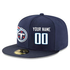 Football Tennessee Titans Customized Stitched Snapback Adjustable Player