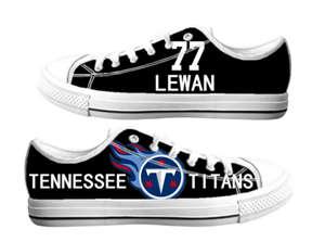 Football Tennessee Titans Team Logo Fashion Rubber Shoes (12)
