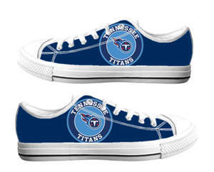 Football Tennessee Titans Team Logo Fashion Rubber Shoes (13)
