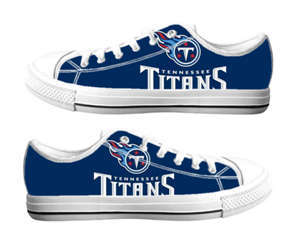 Football Tennessee Titans Team Logo Fashion Rubber Shoes (14)