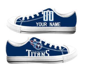 Football Tennessee Titans Team Logo Fashion Rubber Shoes (15)