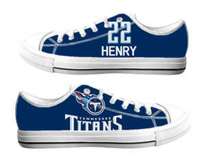 Football Tennessee Titans Team Logo Fashion Rubber Shoes (16)