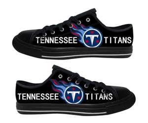 Football Tennessee Titans Team Logo Fashion Rubber Shoes (17)
