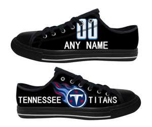 Football Tennessee Titans Team Logo Fashion Rubber Shoes (18)