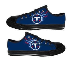 Football Tennessee Titans Team Logo Fashion Rubber Shoes (20)