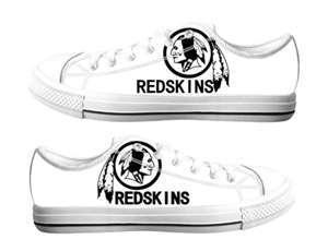 Football Washington Redskins Team Logo Fashion Rubber Shoes (1)