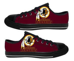 Football Washington Redskins Team Logo Fashion Rubber Shoes (10)