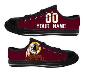 Football Washington Redskins Team Logo Fashion Rubber Shoes (11)