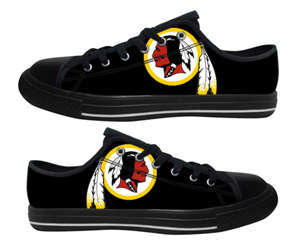 Football Washington Redskins Team Logo Fashion Rubber Shoes (13)